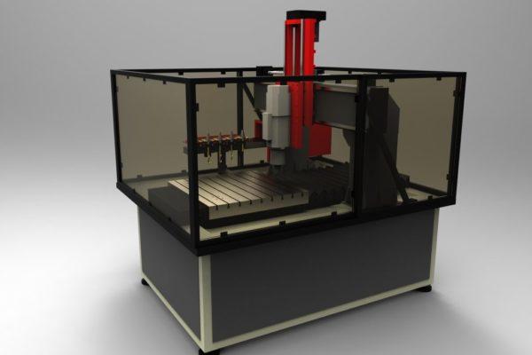 Frezarka CNC do metalu prod CNC Wieczorek