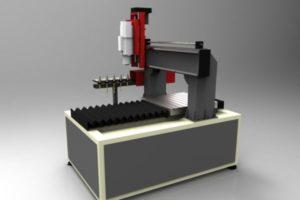 Frezarka 700x700 ATC ISO30 magazyn bez osłon