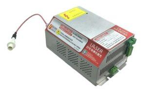Zasilacz EFR do lasera CO2. Złącza elektryczne.