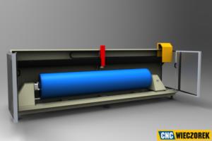 Urządzenie CNC typu custom. CNC Wieczorek