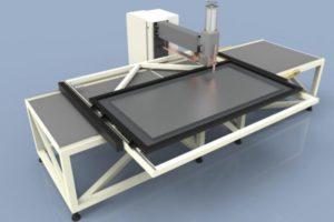 Stół krzyżowy zgrzewarki CNC
