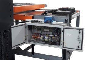 Zgrzewarka stół krzyżowy CNC