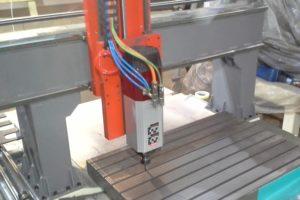 Ploter CNC 1007 faza produkcji